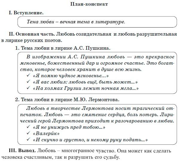 План как написать эссе по литературе 2993